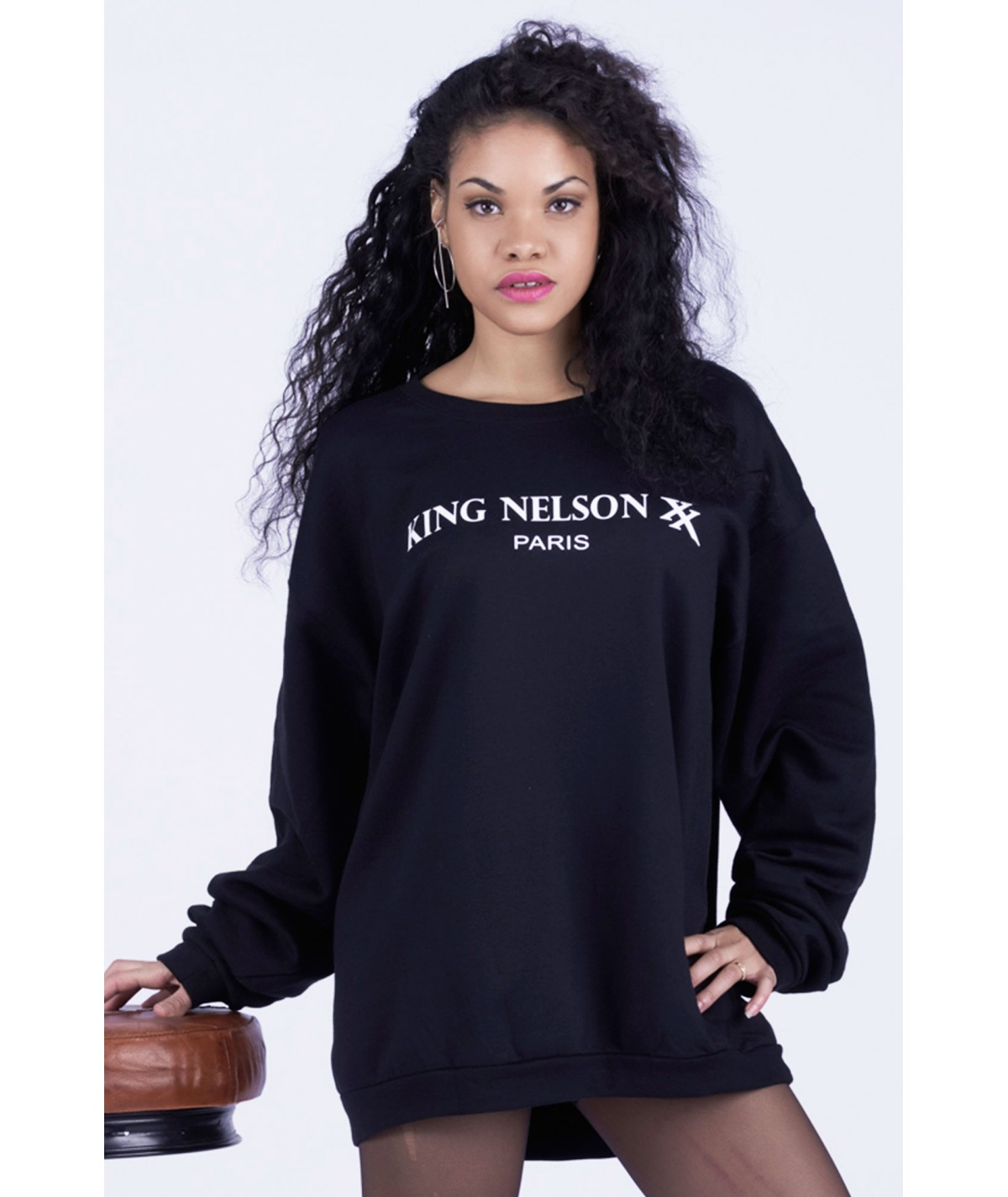 SWEAT KNX PARIS NOIR